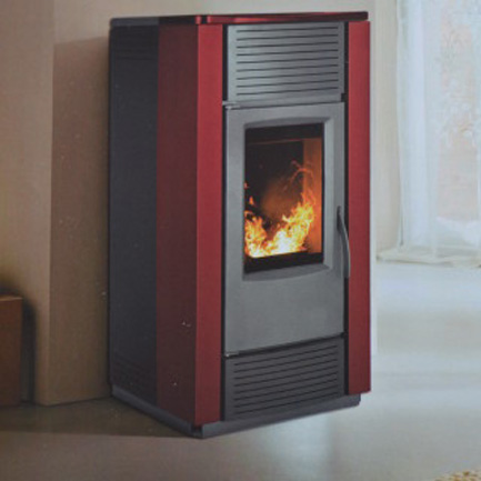 salamandra a pellets para aquecimento central a agua aqua 21 enerclima. Black Bedroom Furniture Sets. Home Design Ideas